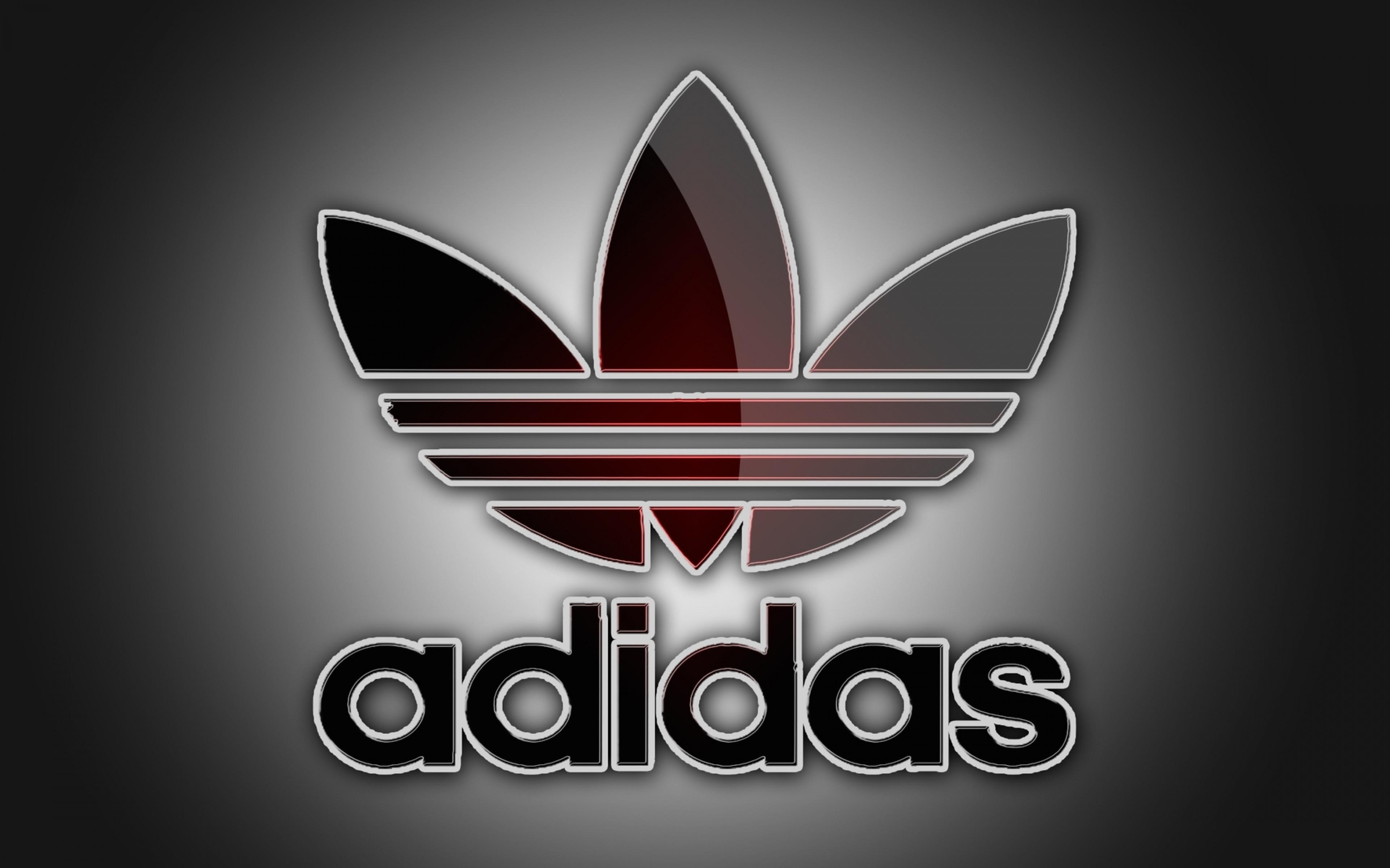 Download Wallpaper 3840x2400 Adidas Logo Brand Ultra HD 3840x2400