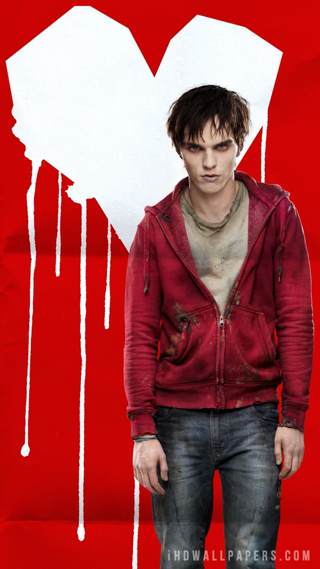 Nicholas Hoult in Warm Bodies wallpaper 640x1136