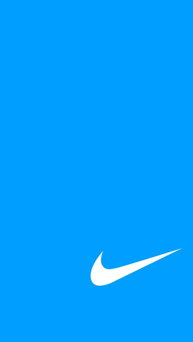 Blue Nike iPhone Wallpaper   IPhone 5 iPhone 640x1136