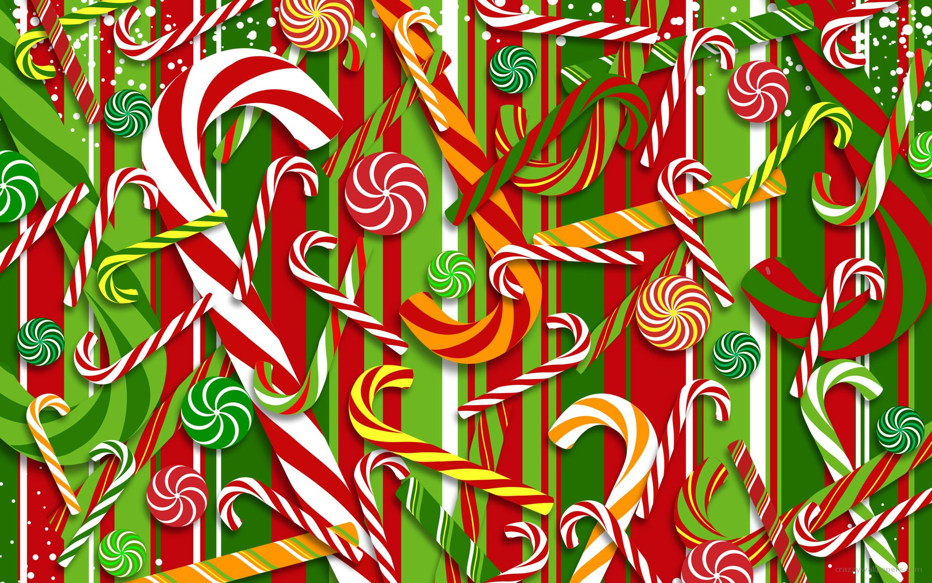 Christmas candy wallpaper 1920x1200