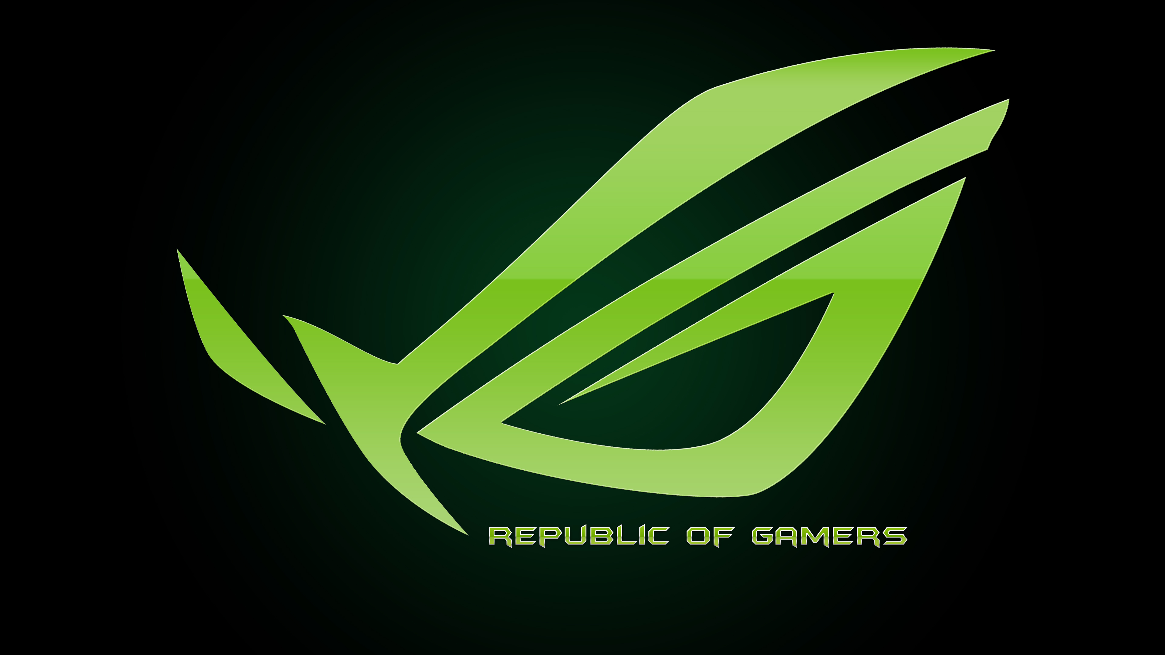 Photo Collection Green Republic Of Gamers Wallpaper