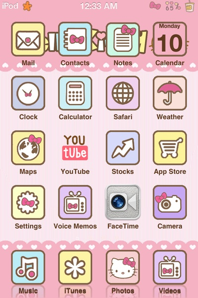 Cute ipod background Iphone Backgrounds Pinterest 400x600