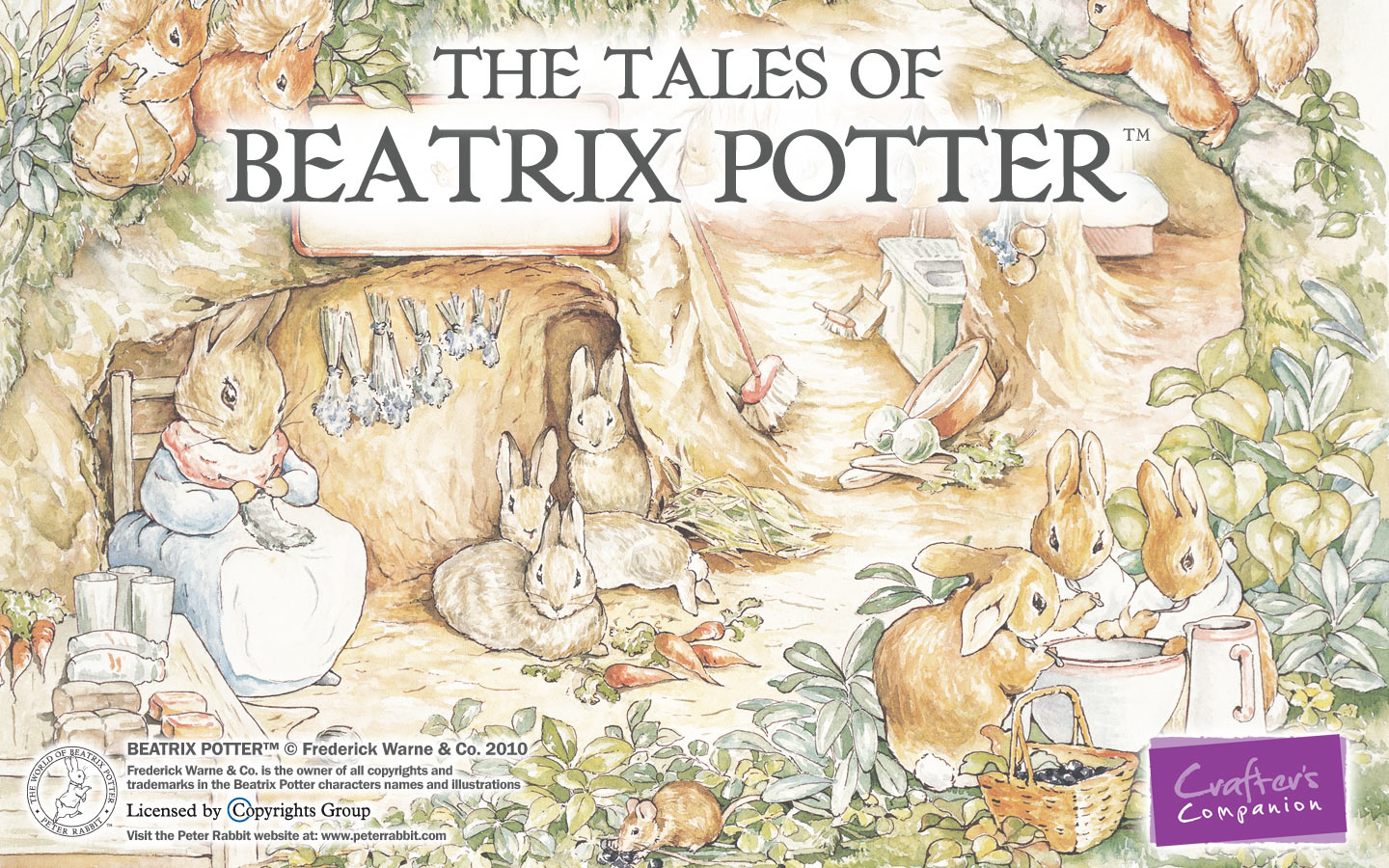 Beatrix Potter Wallpaper Wallpapersafari