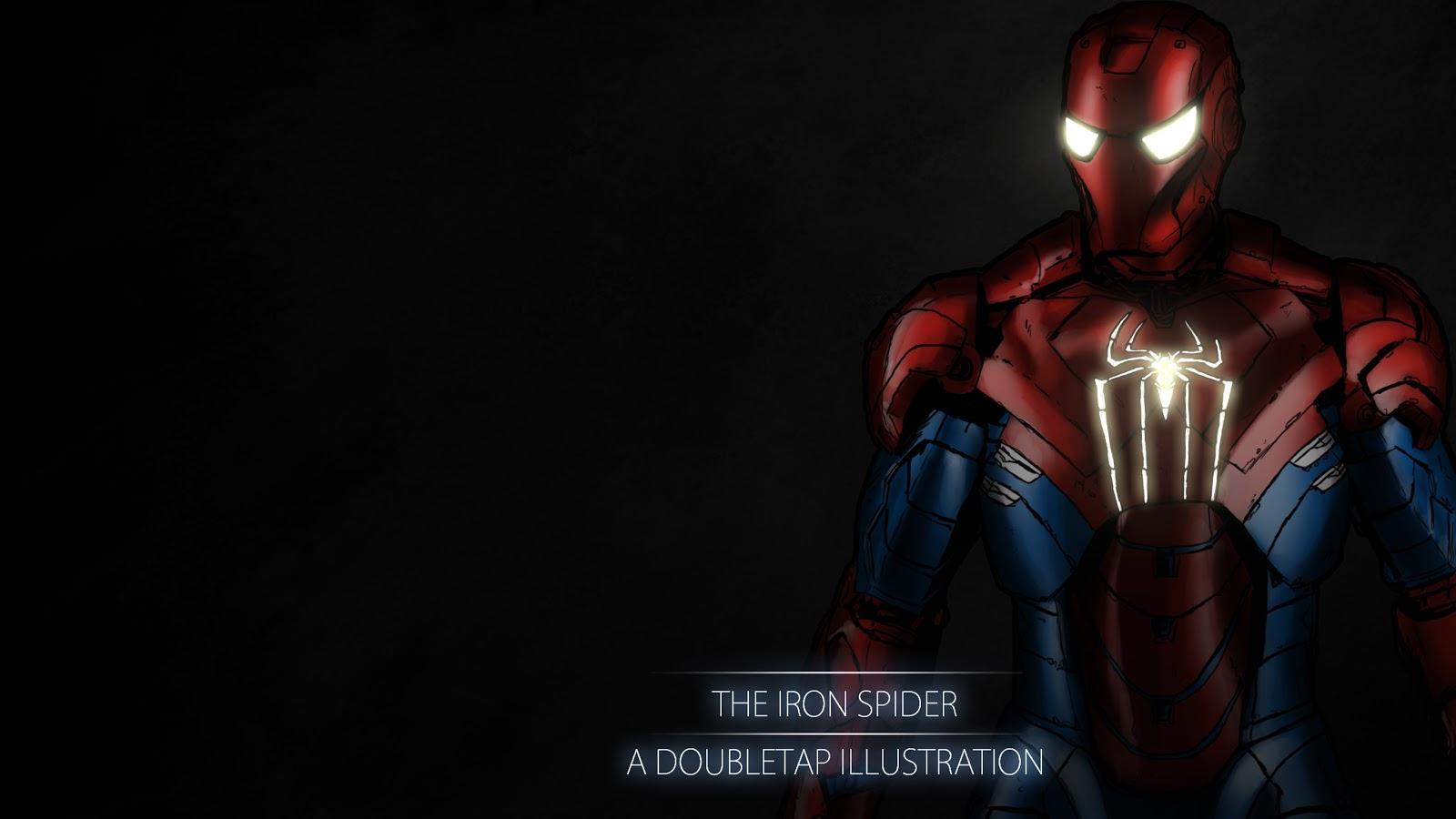 Iron Spider Wallpaper Wallpapersafari