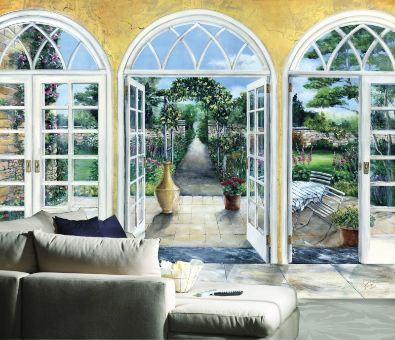 Wall murals Garden in Western Cape South Africa and Down the 800x689