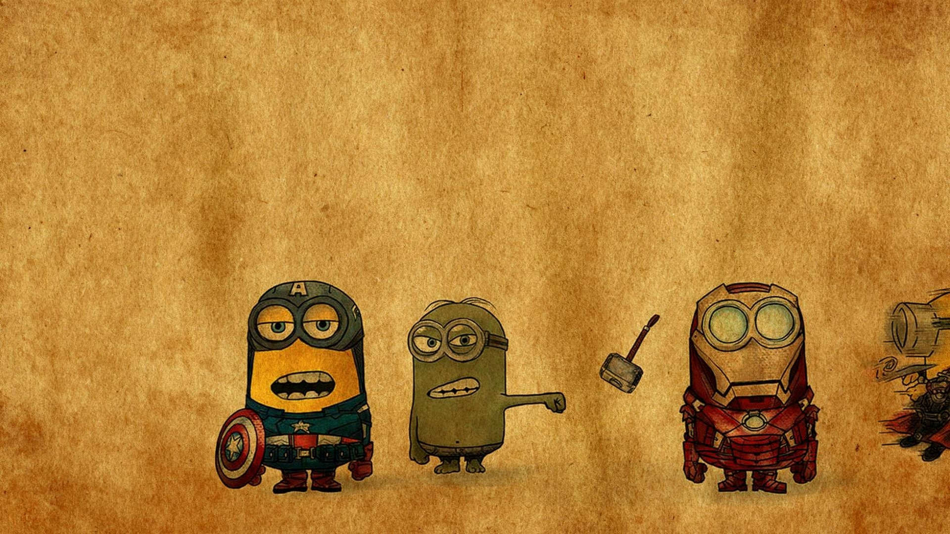 Minion Avenger Computer Wallpapers Desktop Backgrounds 1920x1080 1920x1080
