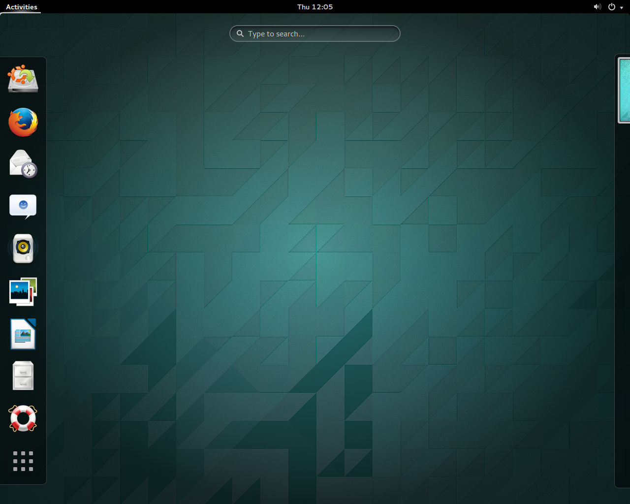 Ubuntu GNOME 1404   the projects first LTS version 1280x1024