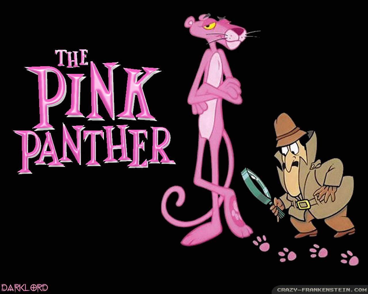 Pink Panther wallpapers   Crazy Frankenstein 1280x1024