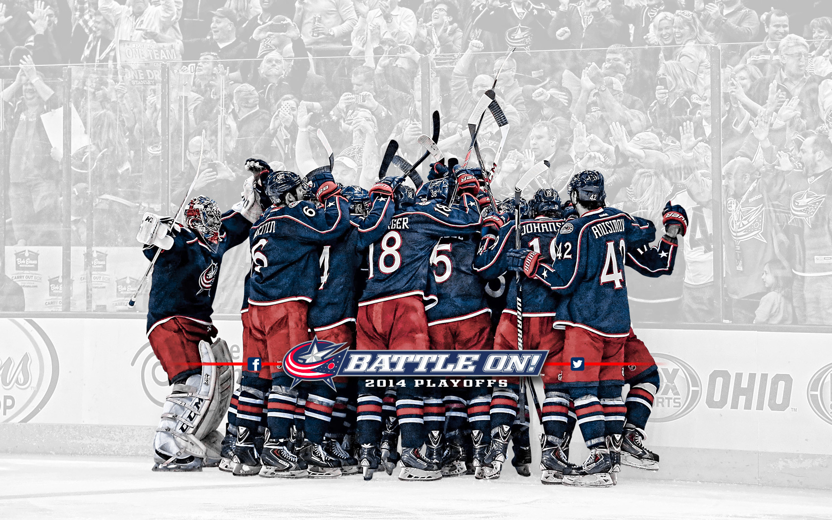 Columbus >> Blue Jackets Wallpaper - WallpaperSafari