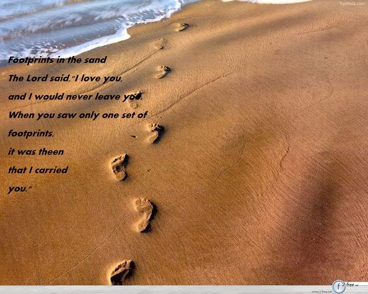 Footprints Wallpaper Background Theme Desktop 720x576