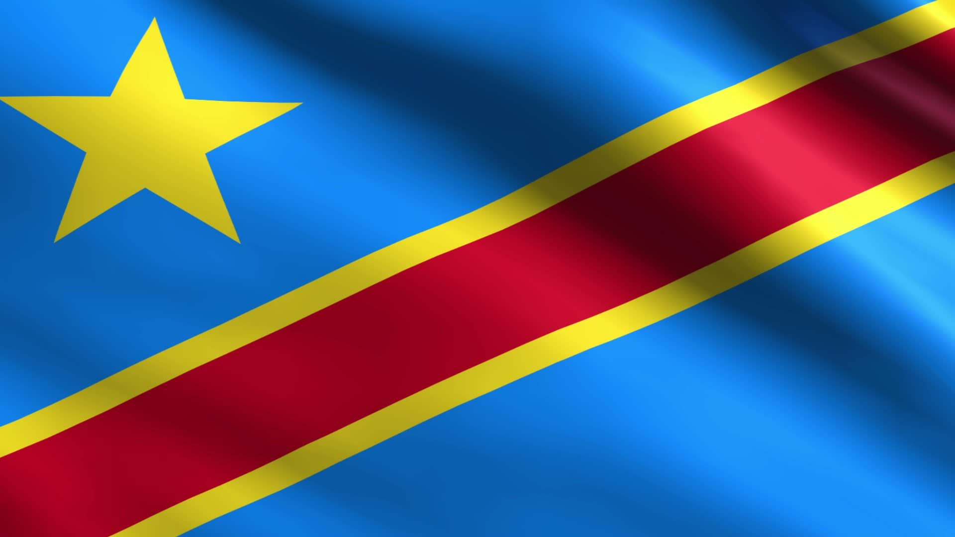 Democratic Republic of the Congo Flag   Wallpaper High Definition 1920x1080