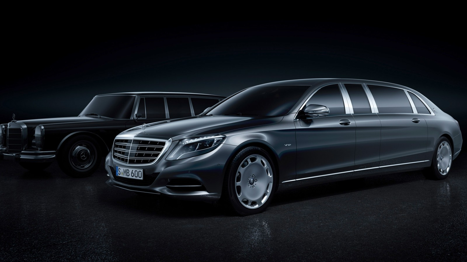 2016 Mercedes Maybach Pullman Wallpaper HD Car Wallpapers 1600x900