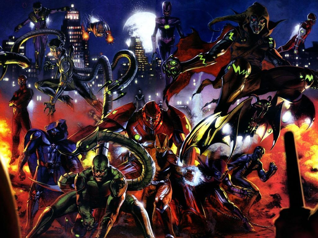 70 marvel villains wallpaper on wallpapersafari - Dc characters wallpaper hd ...