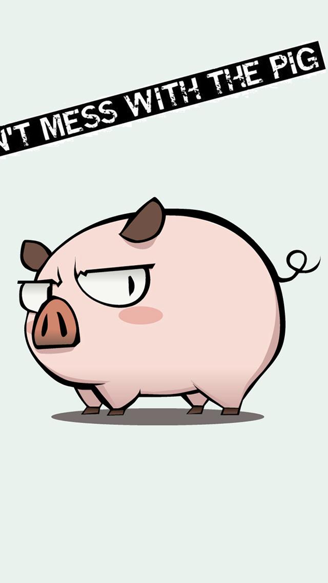 Cute pig wallpapers for ipad wallpapersafari - Pig wallpaper cartoon pig ...