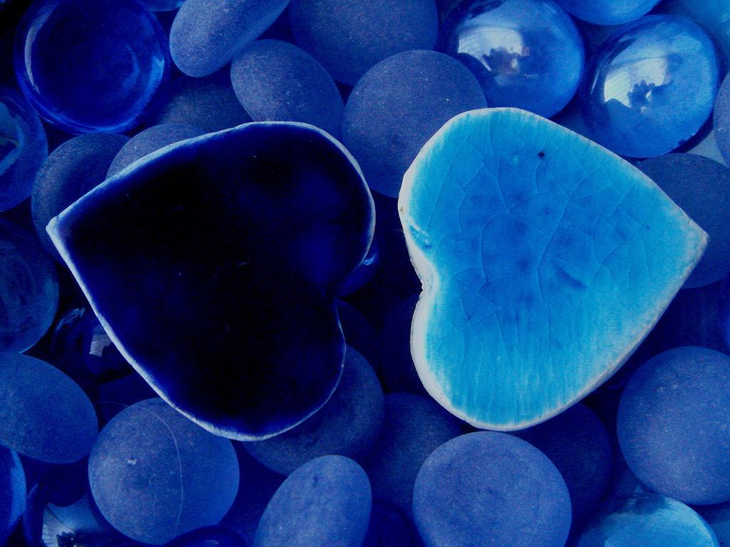Blue Hearts Wallpaper Wallpapersafari
