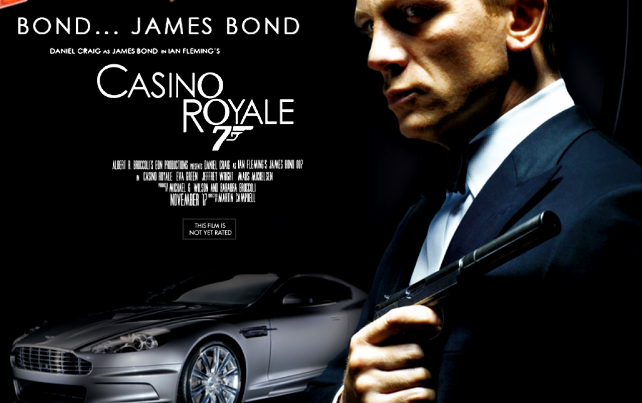 james bond casino royale coursework essay The following essay will shed light on how stereotypes are constructors for popular culture and, wherever appropriate, social critique of these stereotypes by examining the works of 'casino royale' (2006) and the first evidence of homosexuality which was found in film noir works.
