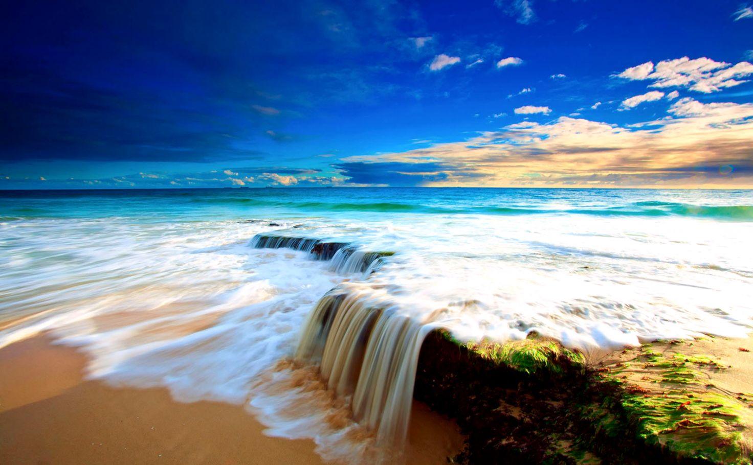 Desktop Background Beach Decor di Design 1472x910