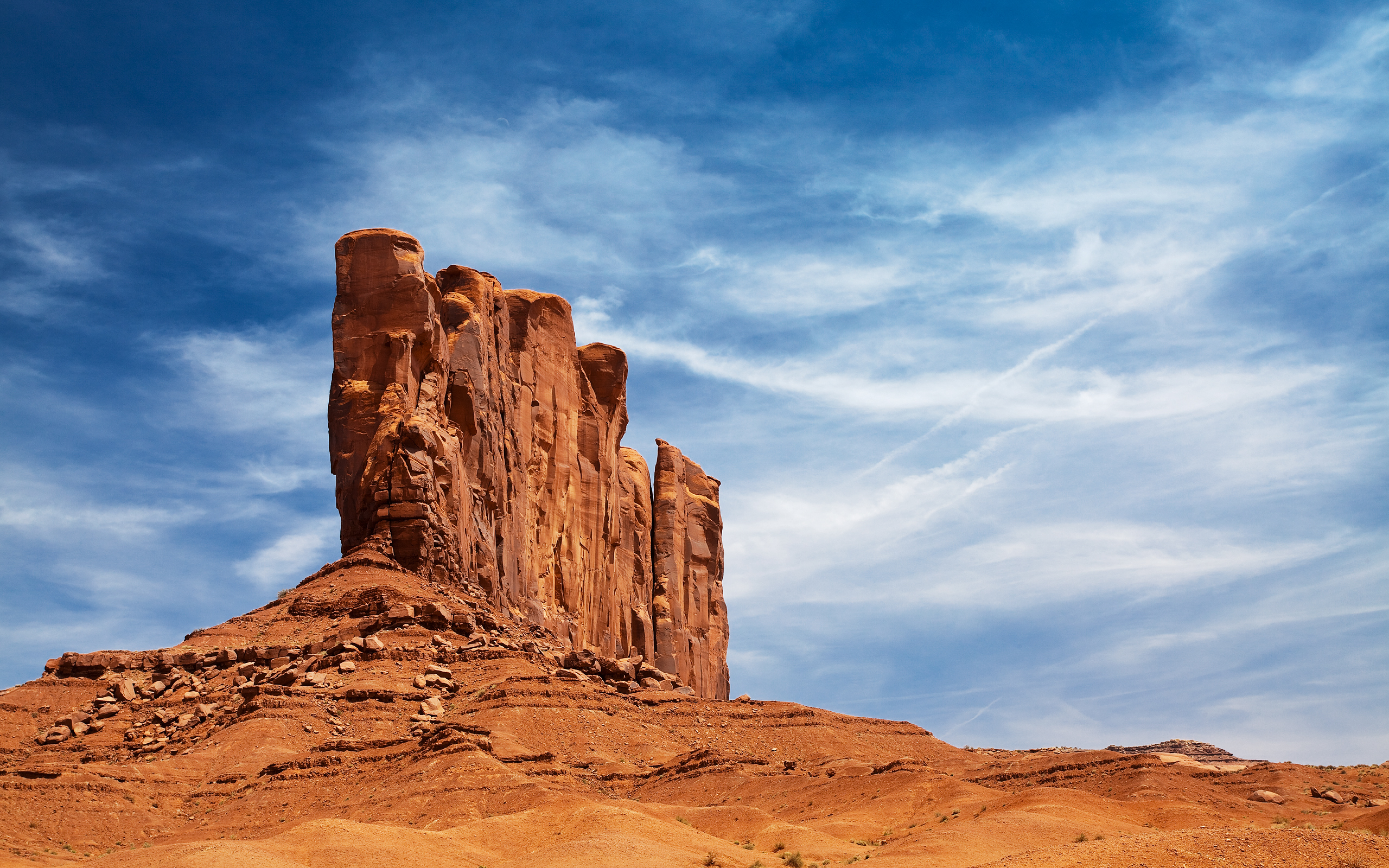Wallpaper arizona desert sky rock wallpapers landscapes   download 2560x1600