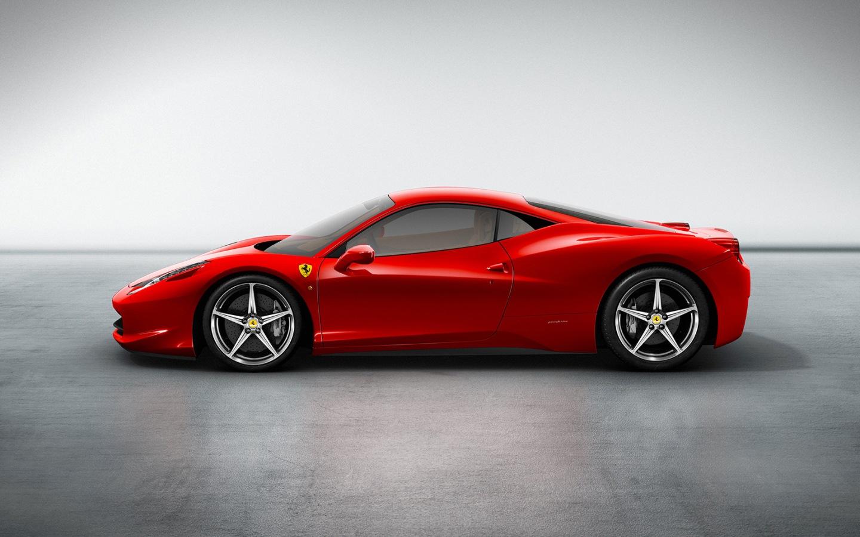 Ferrari 458 Italia Black Wallpaper Pictures to pin on 1440x900