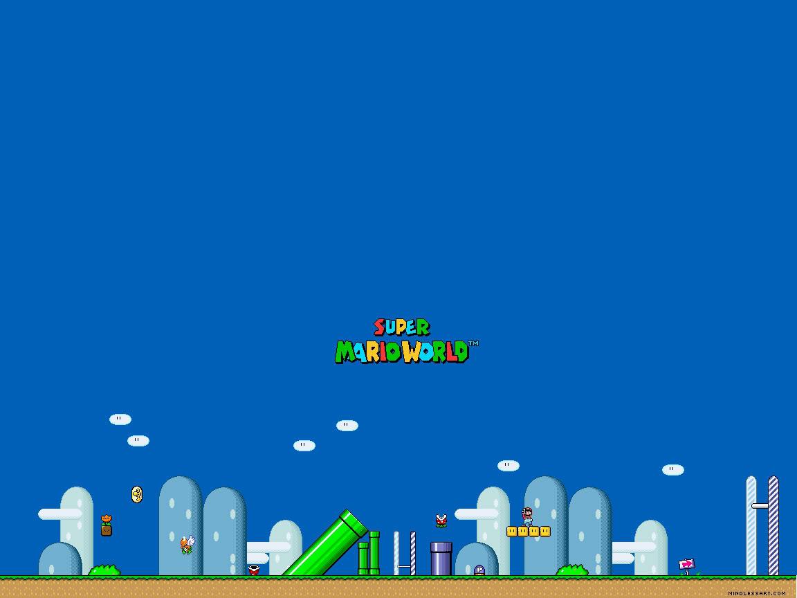 Mario Desktop Backgrounds: Mario Desktop Background