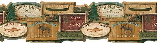 Lodge and Cabin Home Fishing Lodge Decor Bathroom Accessories 504x141