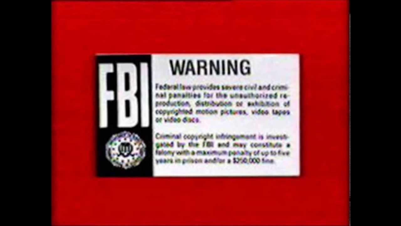 Fbi Warning Logo Fbi Logo Wallpaper 1600900 Fbi Logo Wallpaper 1280x720