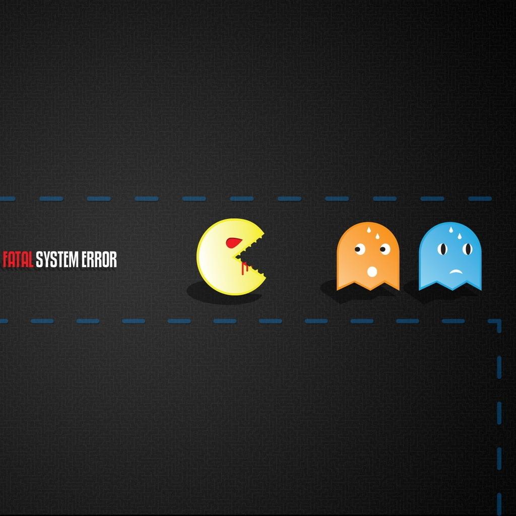 Pacman Flash IPad Wallpaper Download IPhone Wallpapers IPad 1024x1024