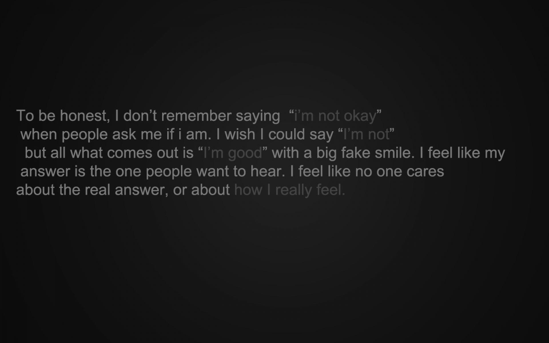 Quotes sad darkness depressing sadness depression ezechyel wallpaper 1920x1200