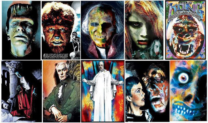 Classic Horror Monsters Wallpaper Classic monsters by 720x428
