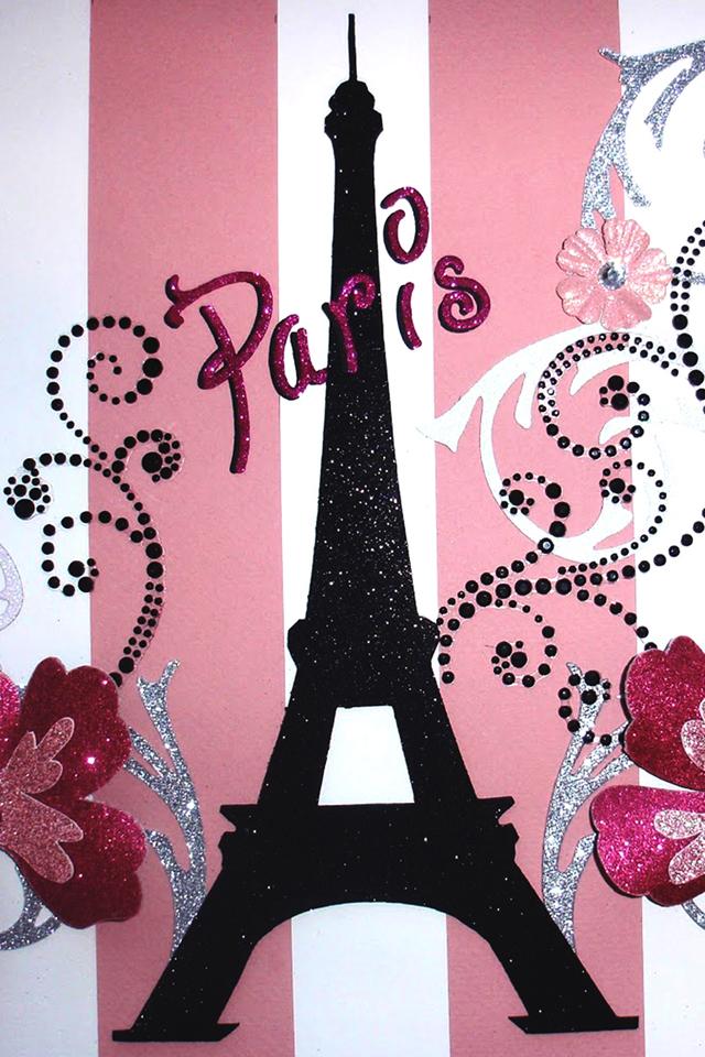 46 Paris In Pink Wallpaper On Wallpapersafari
