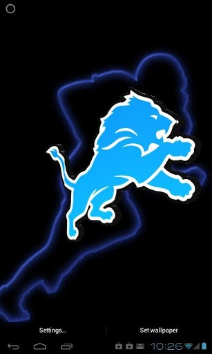Detroit Lions Iphone Wallpaper Detroit lions 3d live wp app 307x512