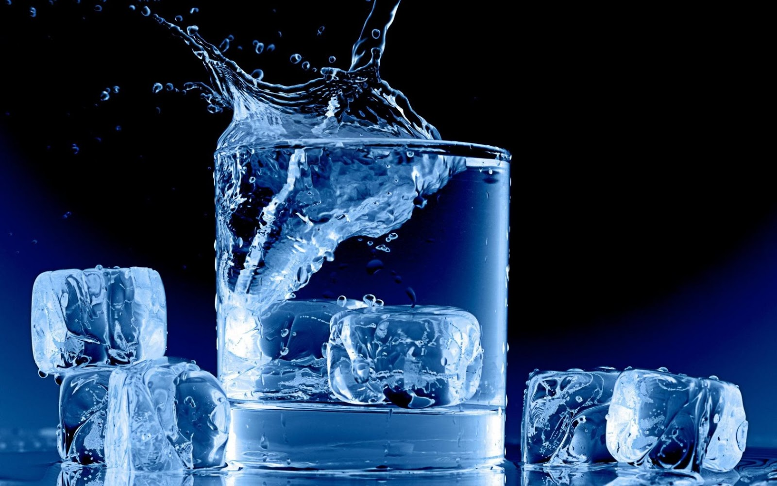 creative ice cubes hd wallpaper slwallpapers cute ice wallpaper 1600x1000