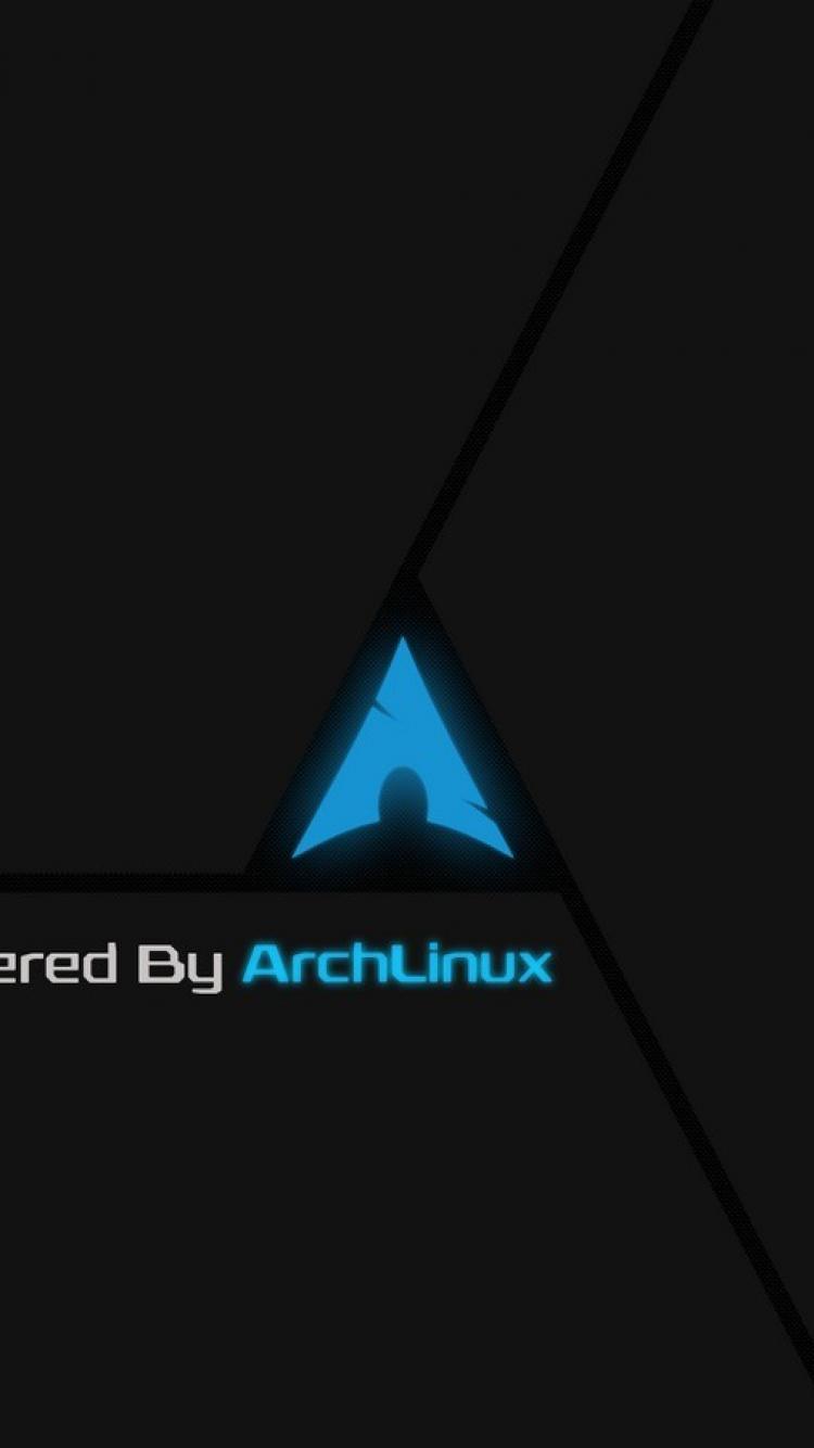 Dark linux custom arch digital art 2d gnulinux wallpaper 5982 750x1334
