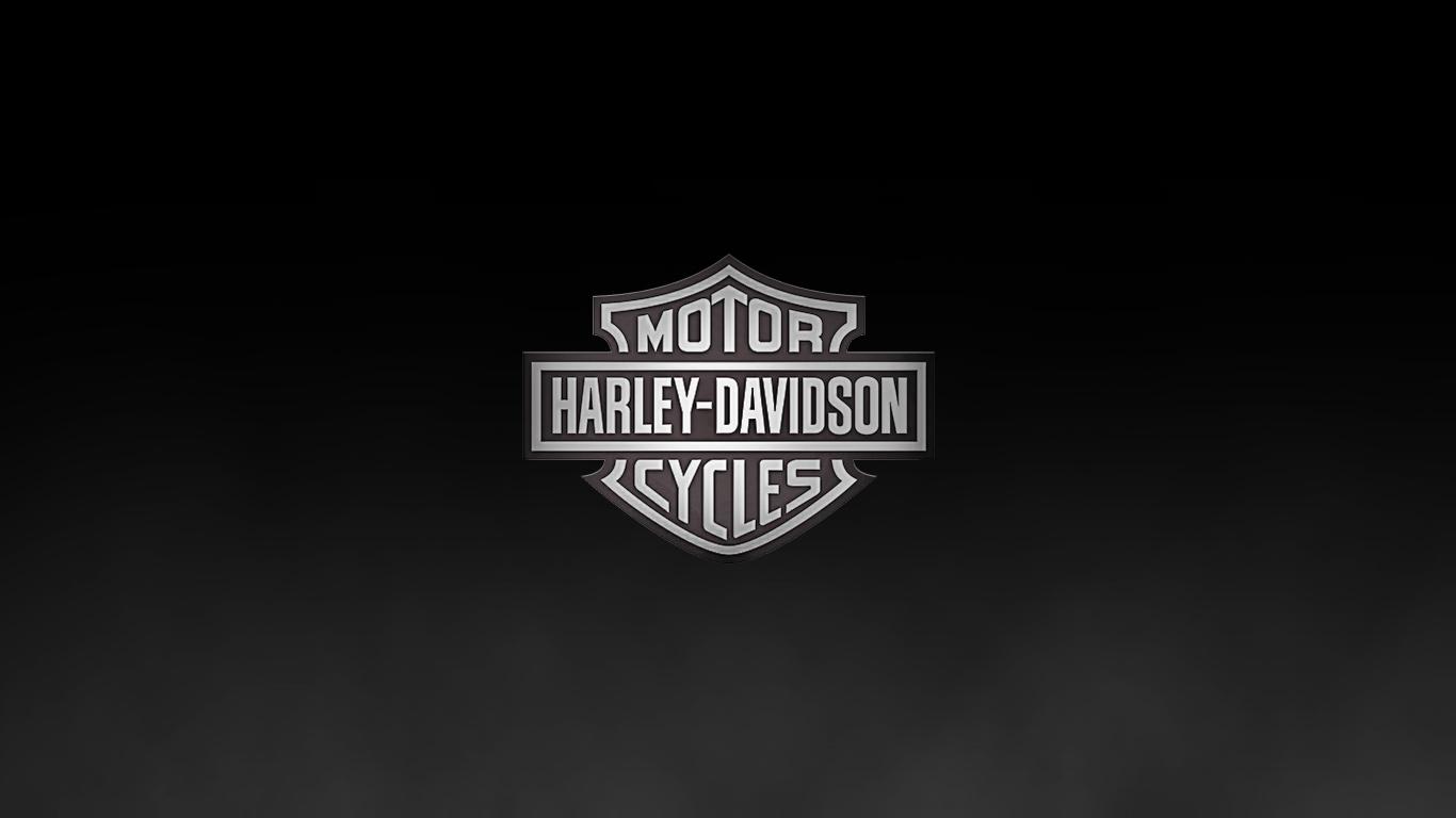 Harley Davidson Logo Wallpaper 7060 Hd Wallpapers in Logos   Imagesci 1366x768