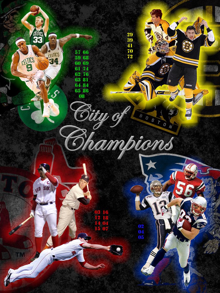 Boston Sports History 900x1200