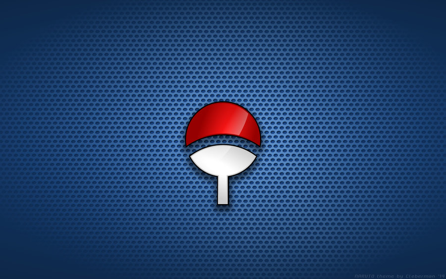 Uchiha Clan Symbol Wallpaper Wallpaper   uchiha fan blue 900x563