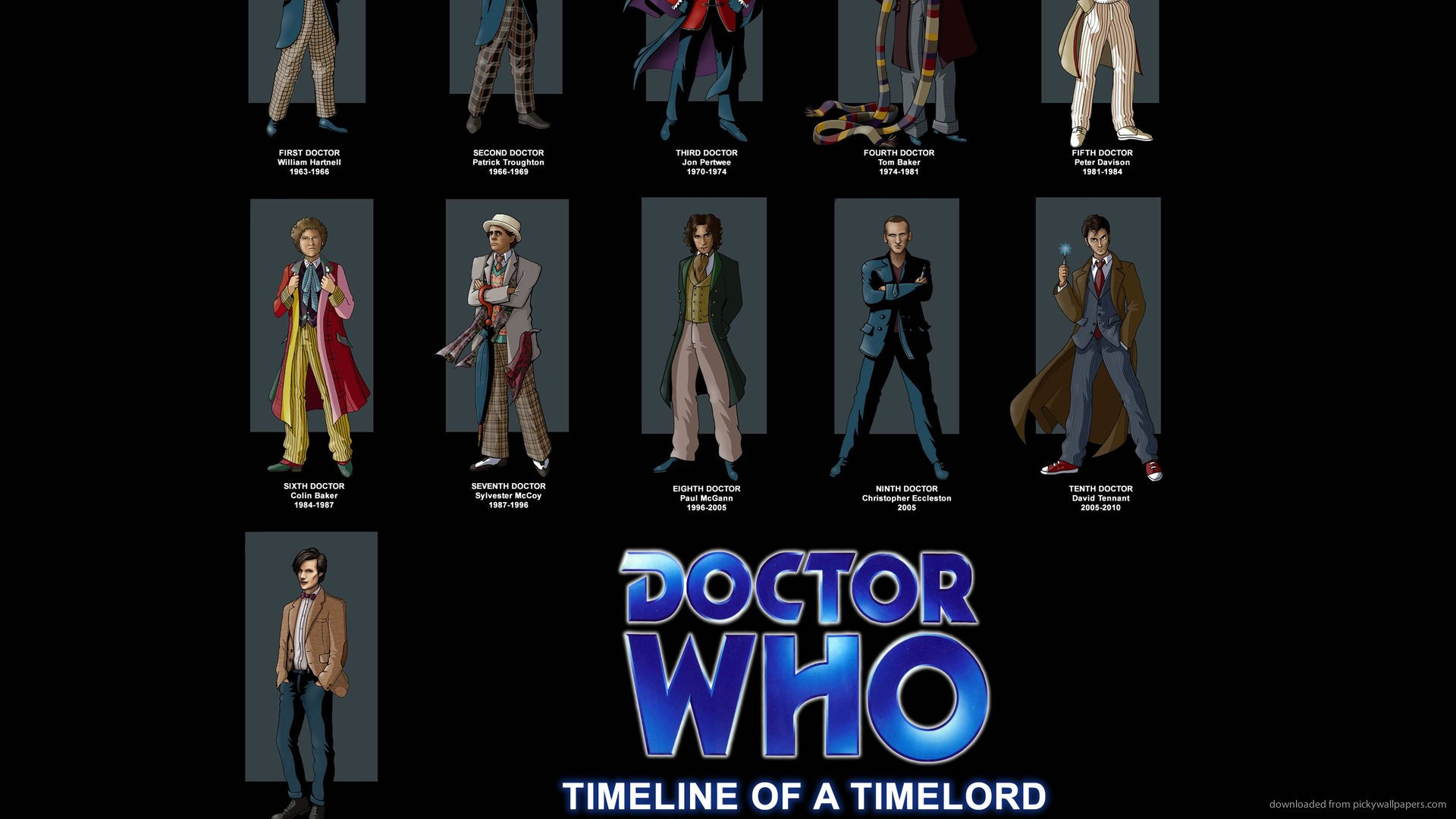 Doctor Who Timeline Of A Timelord for 1920x1080 1920x1080