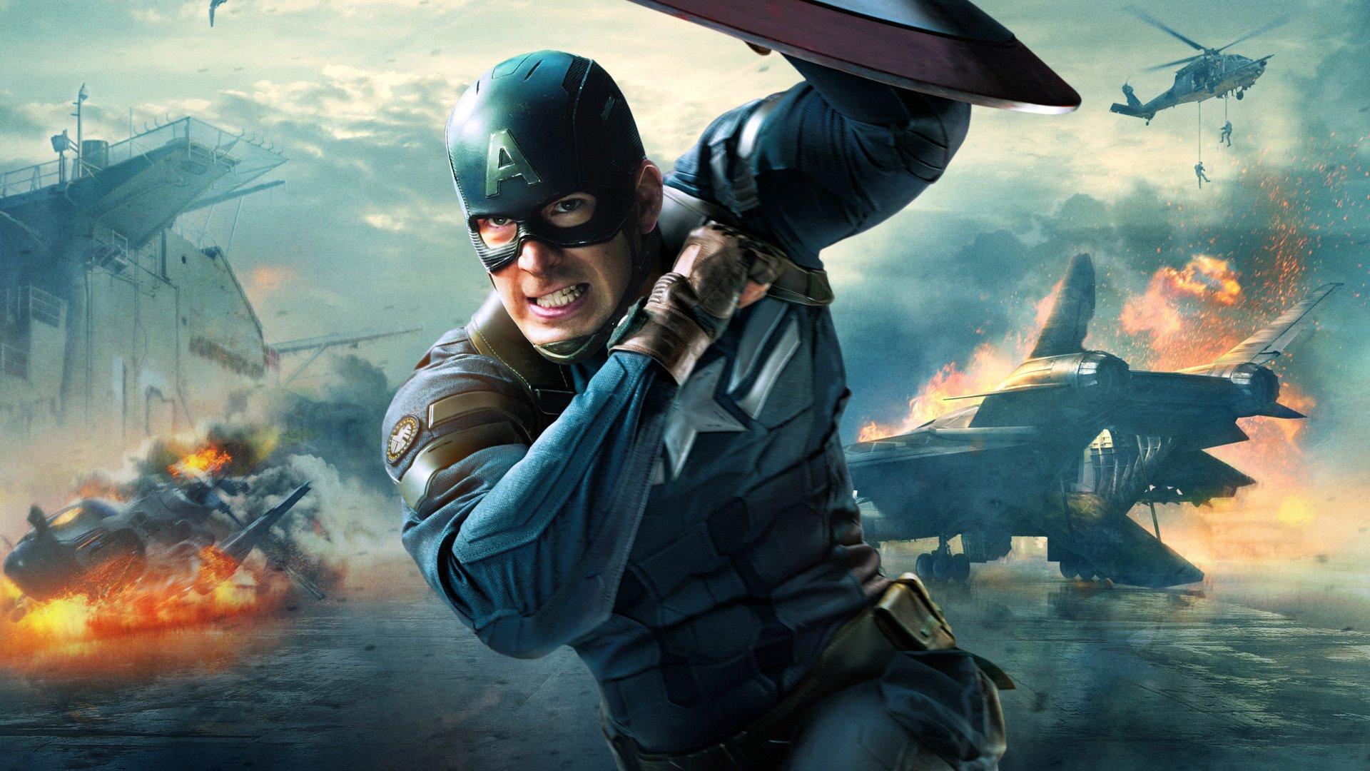 Capetan america superhero movie wallpaper 1920x1080 446887 1920x1080