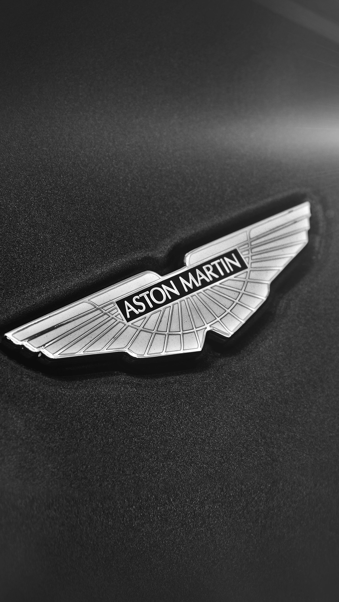 Simple Aston Martin Logo Dark Background iPhone 8 Wallpaper 1080x1920