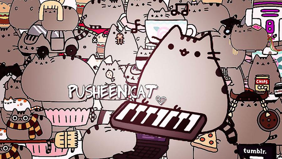 Imponk Blog Pusheen The Cat Wallpaper Iphone 900x506