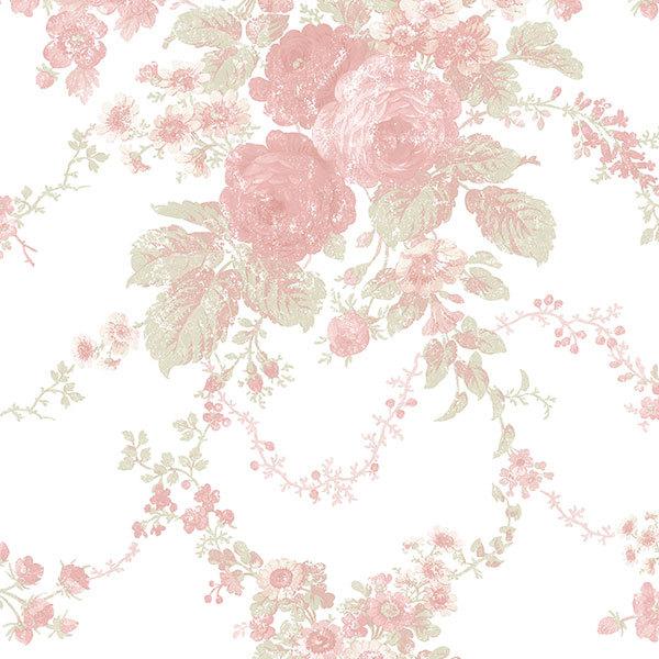 Cabbage rose wallpaper patterns wallpapersafari - Wallpaper 600x600 ...