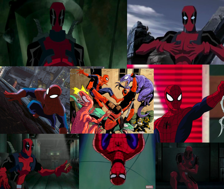 Deadpool And Spiderman Wallpaper By Geniesmartass 765x647