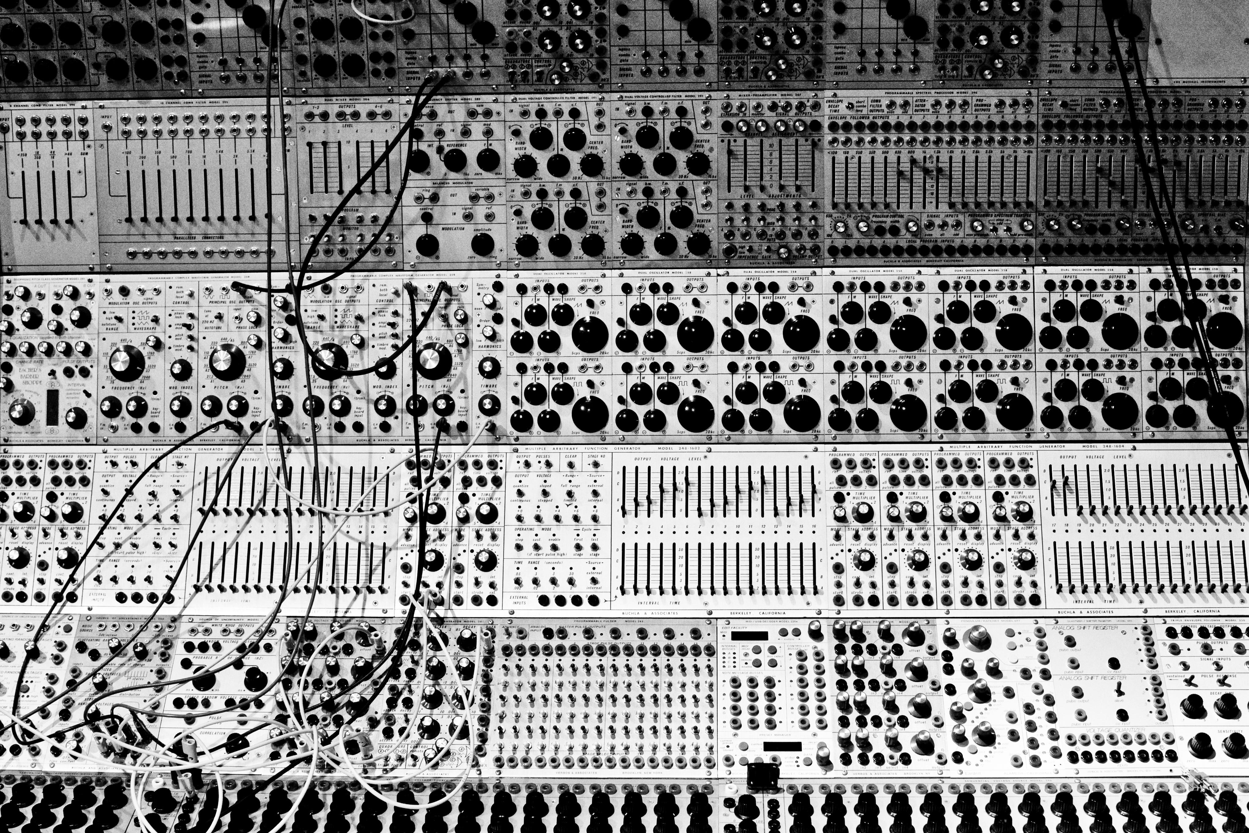 49] Modular Synthesizer Wallpaper on WallpaperSafari 4080x2720