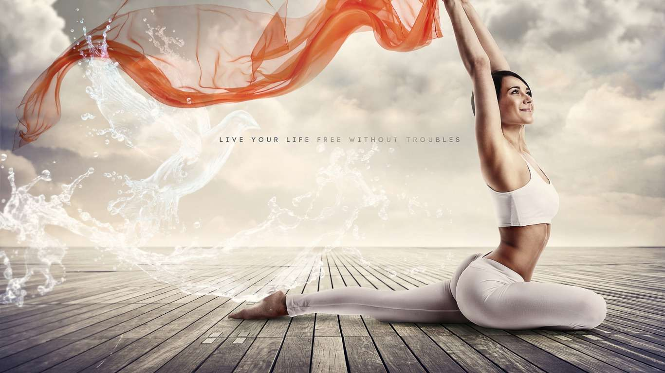 Meditation Yoga Wallpaper Nice Wallpapers 1366x768