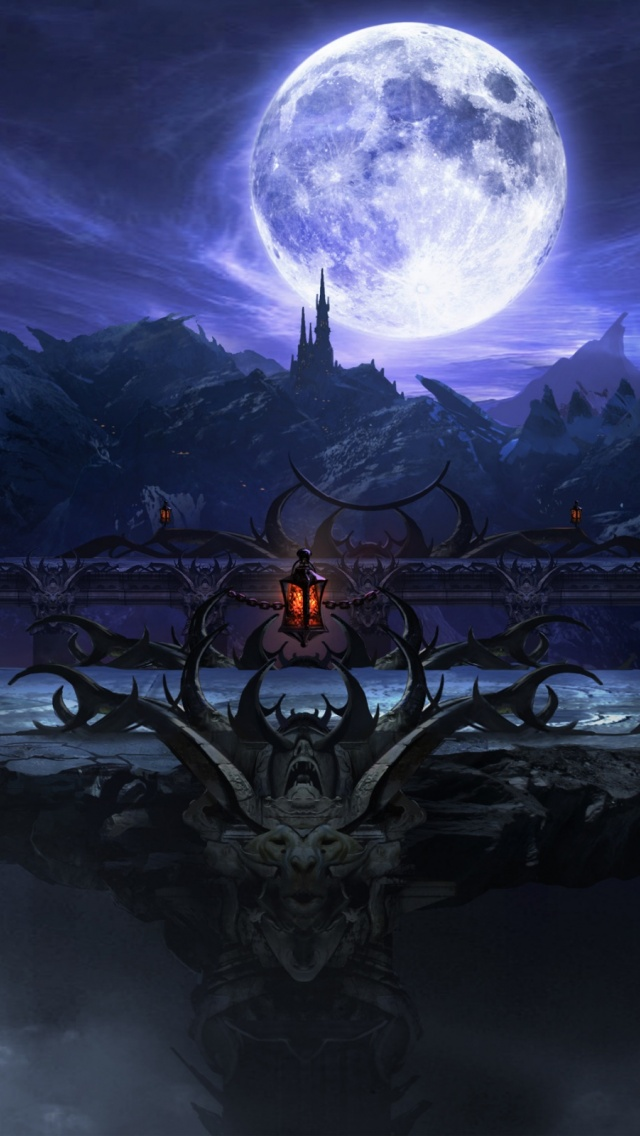 download Mortal Kombat X Stage wallpaper desktop background 640x1136