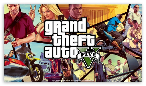 Grand Theft Auto V HD wallpaper for HD 169 High Definition WQHD QWXGA 510x300