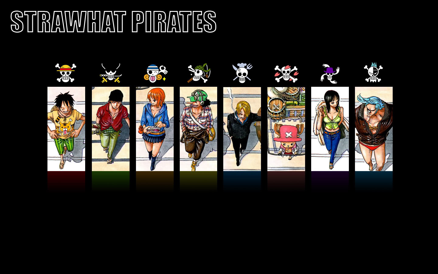 Strawhat Pirates Flags Wallpaper Download   1440x900 1440x900
