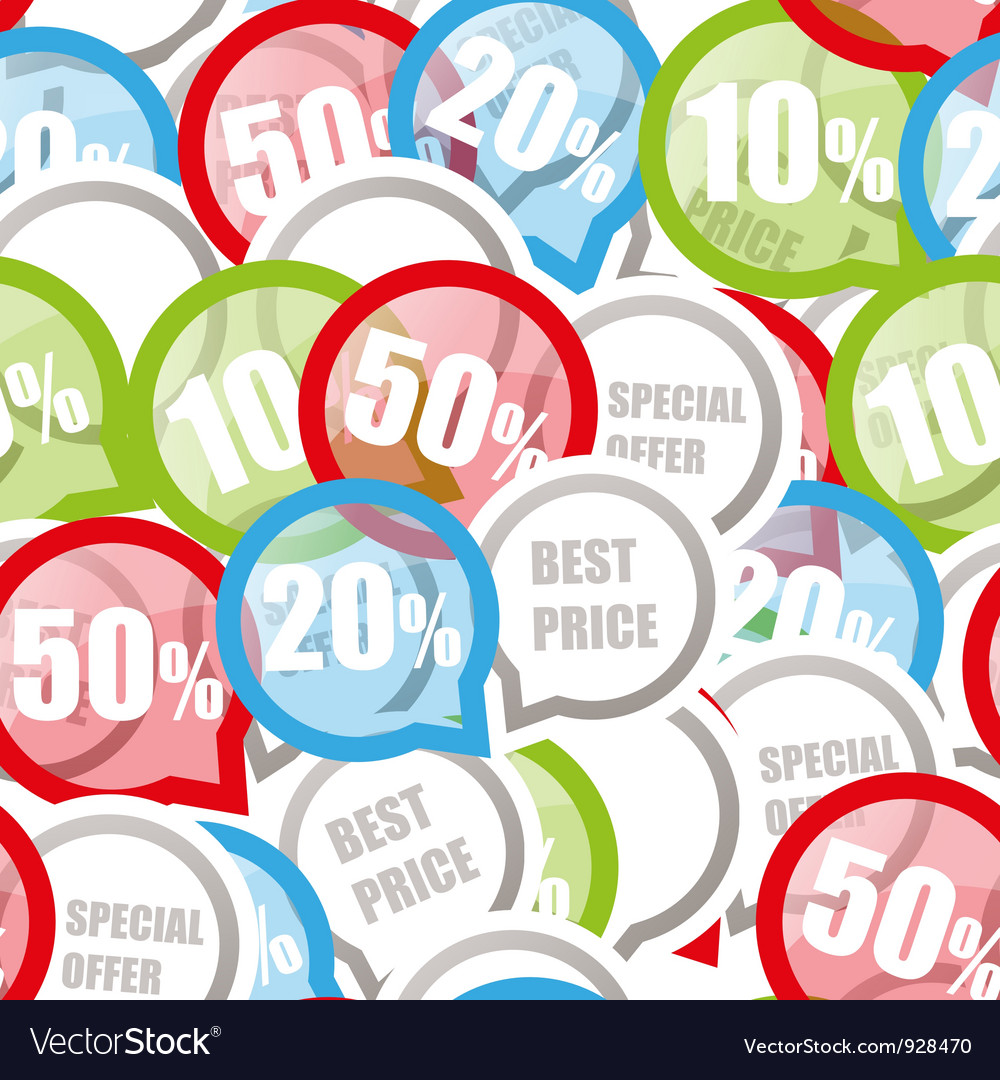 Price discount background Royalty Vector Image 1000x1080