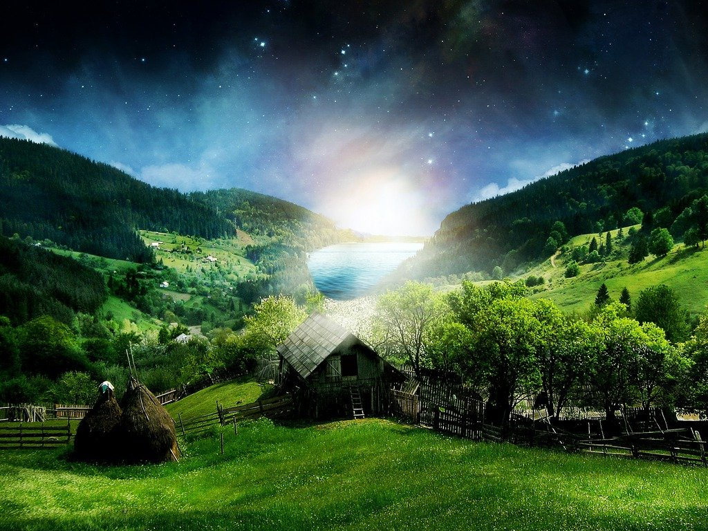 3d Nature wallpapers New 3d nature wallpapers Beautiful nature 3d 1024x768