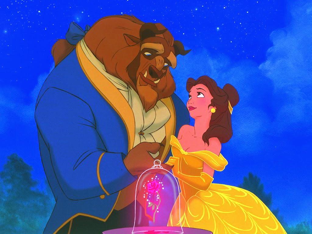 Desktop Wallpaper Disney Beauty and The Beast Wallpaper 1024x768